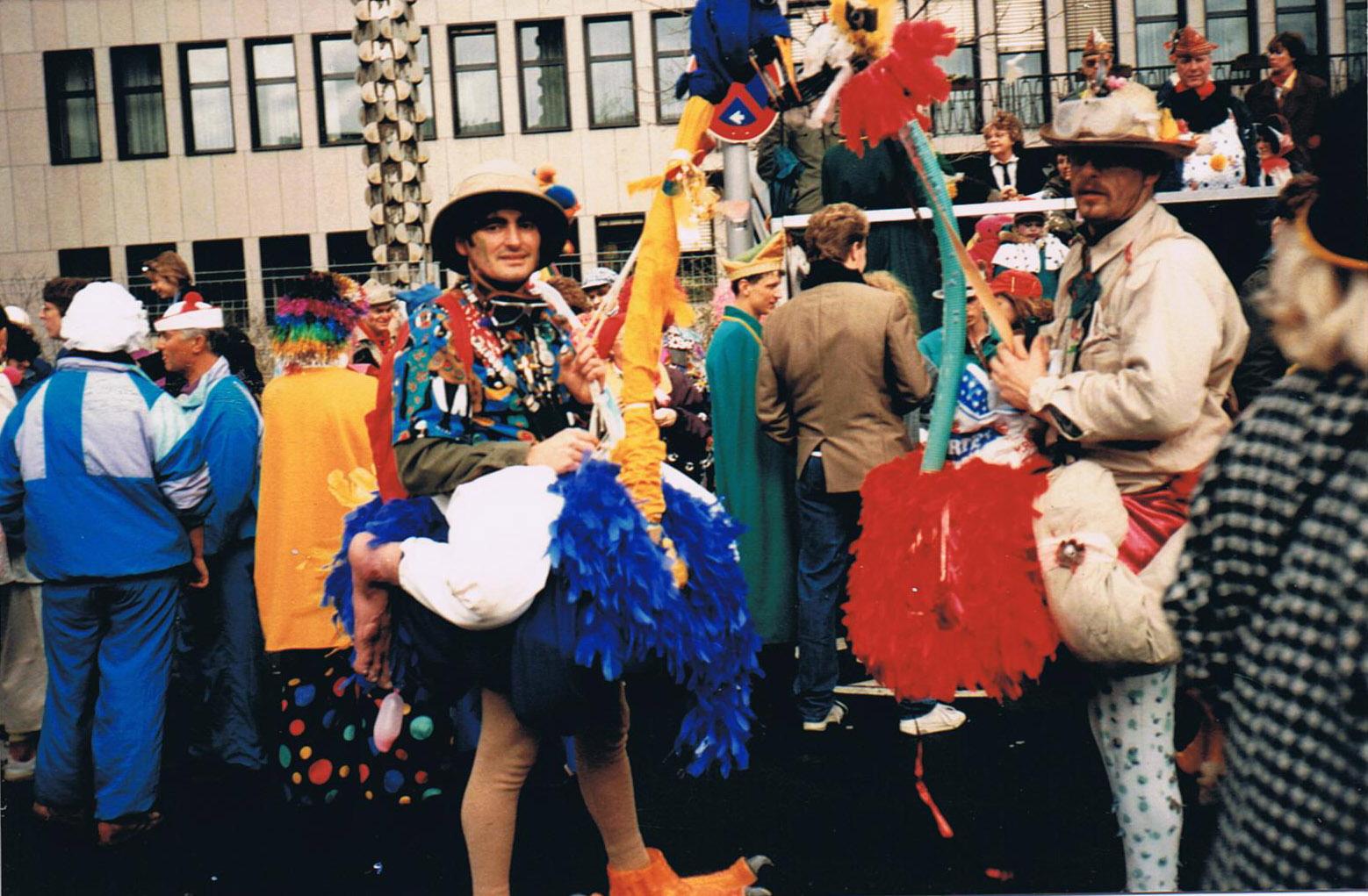 Straußenreiter 1990