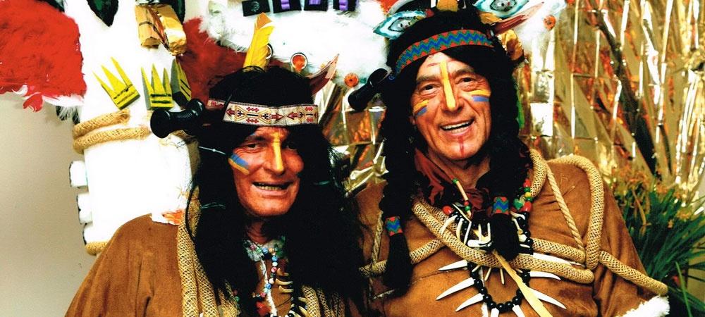Indianer on tour!