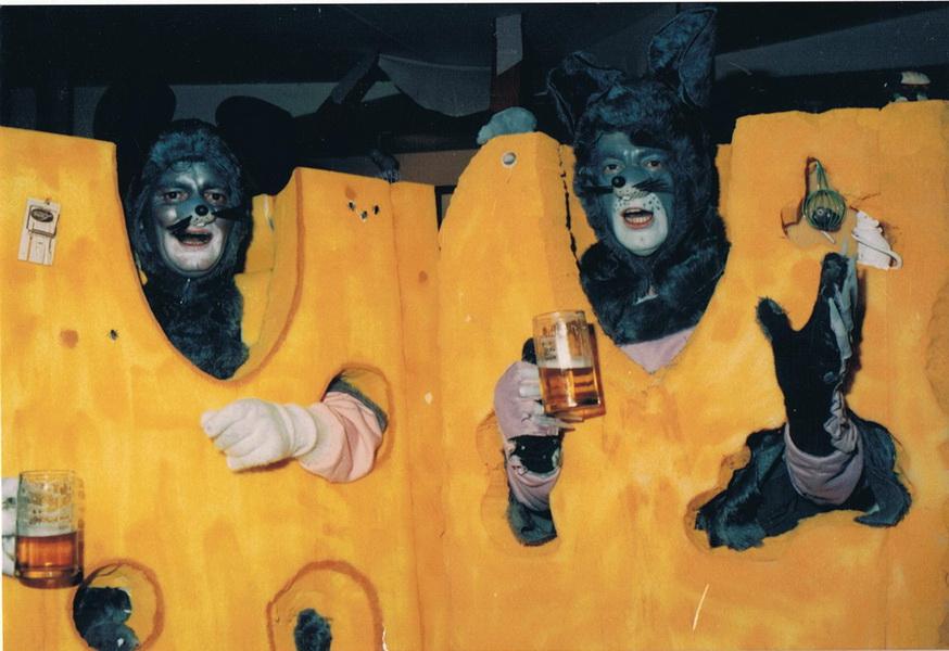 Maus im Käse 1994