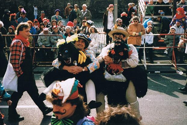 Vom Gorilla getragen 1992